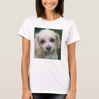 Weißer Welpe T-Shirt