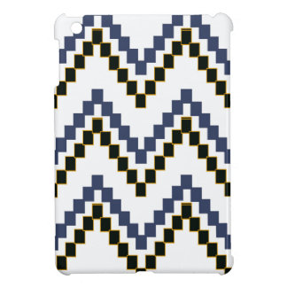 Weißer Western-Block Zickzack iPad Mini Hülle