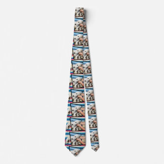 Weißer Whippet Hundemaßkunst, Krawatte