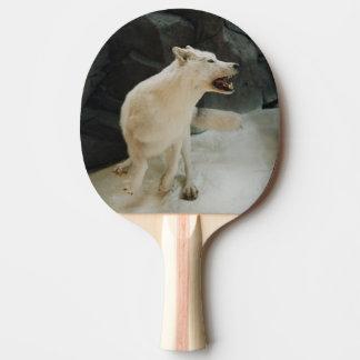 Weißer Wolf Tischtennis Schläger