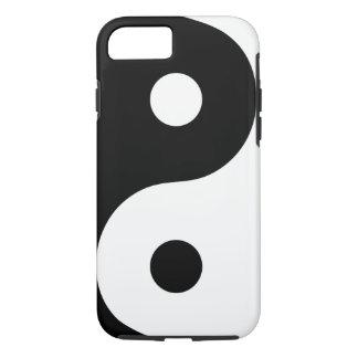 Weißer Yin Yang Telefon-Kasten iPhone 8/7 Hülle