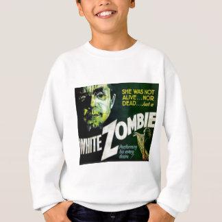Weißer Zombie Sweatshirt