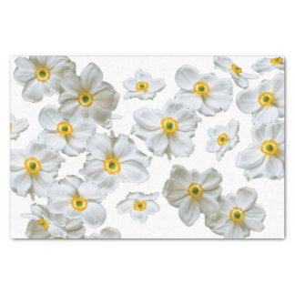 Weißes Blumen-Geschenk-Seidenpapier Seidenpapier