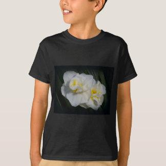 Weißes Blumen-T-Shirt T-Shirt