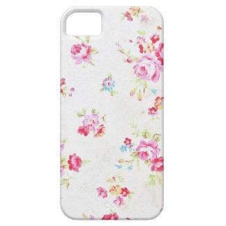 Weißes BlumenShabby Chic iPhone 5/5s Etui Fürs iPhone 5