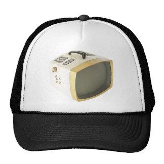 Weißes Fernsehen Trucker Caps