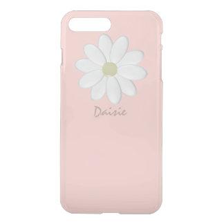 Weißes Gänseblümchen blaß - Rosa iPhone 8 Plus/7 Plus Hülle