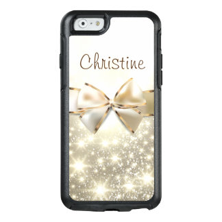 Weißes GoldGlitzerChic OtterBox iPhone 6/6s Fall OtterBox iPhone 6/6s Hülle