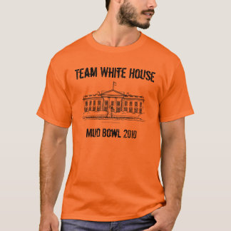 weißes Haus, Schlamm-Schüssel 2010, Team das Weiße T-Shirt