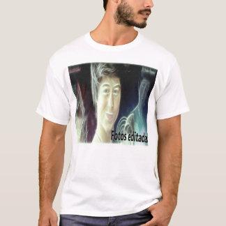 weißes Hemd mit Hülle von facebook T-Shirt
