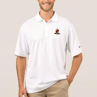 Weißes Hemd Pol Polo Shirt
