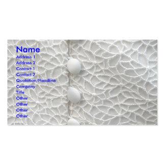 Weißes Hochzeits-Kleid I Visitenkarten Vorlage