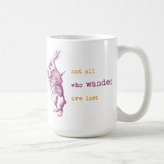 Weißes Kaninchen, Alice im Wunderland Kaffeetasse