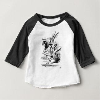 Weißes Kaninchen Baby T-shirt