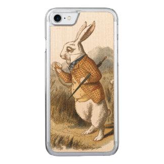 Weißes Kaninchen von der Alice im Carved iPhone 8/7 Hülle