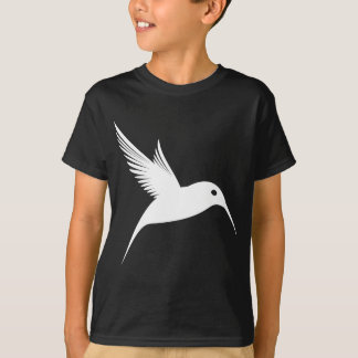 Weißes Kolibri-Shirt T-Shirt