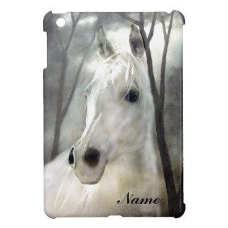 Weißes Pferd iPad Mini Hülle