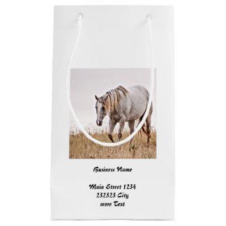 weißes Pferd Kleine Geschenktüte