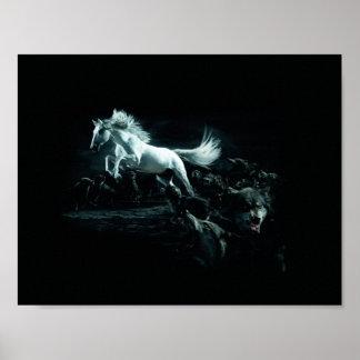 wolf wild posterdesigns zazzlede