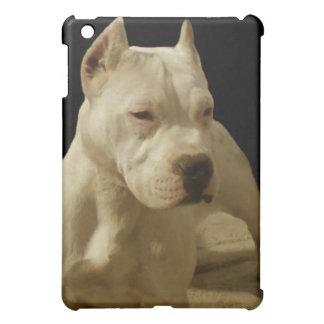 Weißes Pitbull Terrier Hüllen Für iPad Mini