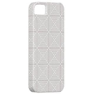 Weißes Preppy Rauten-Muster nahtlos Hülle Fürs iPhone 5