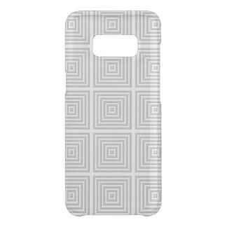Weißes Quadrat geometrisch Get Uncommon Samsung Galaxy S8 Hülle