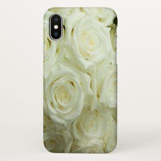 Weißes Rosen iPhoneX iPhone X Hülle