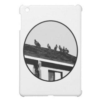Weißes Schwarzes der Bussard-O die MUSEUM Zazzle G iPad Mini Schale