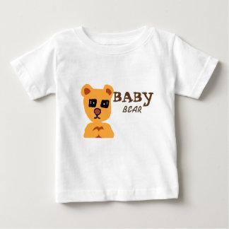 Weißes T-Shirt des Babybären für Baby