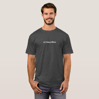 Weißes Textt-shirt des Protagonisten T-Shirt
