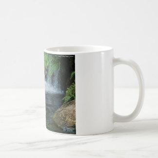 Weißes Tiger-Wasser Kaffeetasse