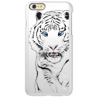 Weißes Tiger-Zeichnen