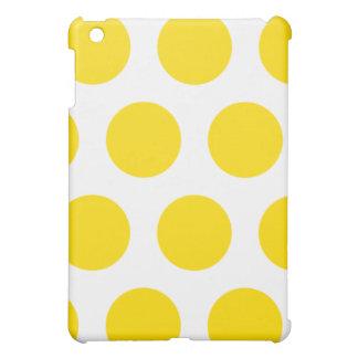 Weißes und gelbes Tupfen iPad Mini iPad Mini Hülle