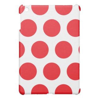 Weißes und rotes Tupfen iPad Mini iPad Mini Hülle