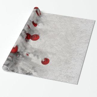 Weißes Weihnachten Geschenkpapier
