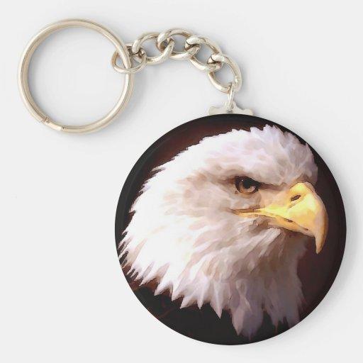 Weißkopfseeadler-Amerikaner Eagle Schlüsselanhänger