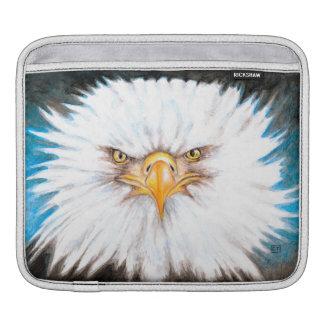 Weißkopfseeadler-Anstarren iPad Sleeve