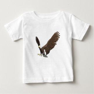 Weißkopfseeadler, der für eine Landung hereinkommt Baby T-shirt