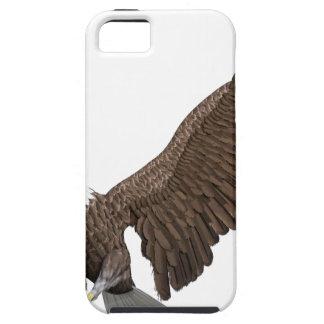 Weißkopfseeadler, der für eine Landung hereinkommt iPhone 5 Etui