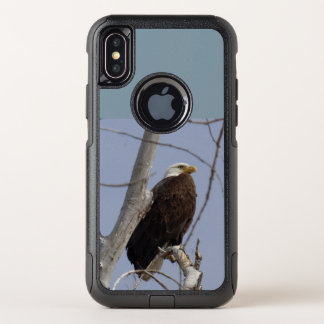 Weißkopfseeadler-Handy-Fall OtterBox Commuter iPhone X Hülle