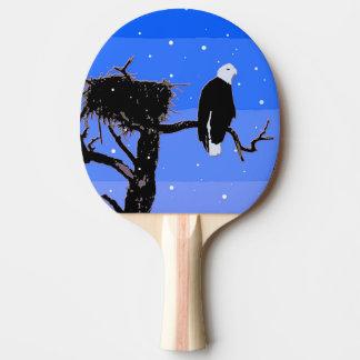 Weißkopfseeadler im Winter - ursprüngliche Tischtennis Schläger