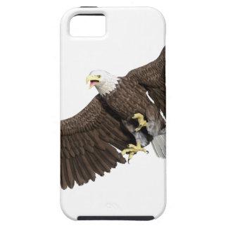 Weißkopfseeadler mit Flügeln auf unten streichen iPhone 5 Cover