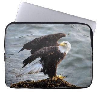 Weißkopfseeadler-Porträt-Tier-Fotografie Laptopschutzhülle