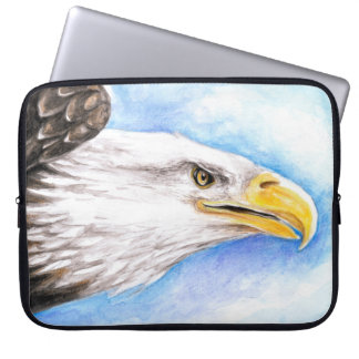 Weißkopfseeadler-Profil Laptopschutzhülle