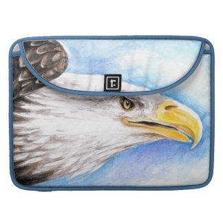 Weißkopfseeadler-Profil Sleeve Für MacBook Pro