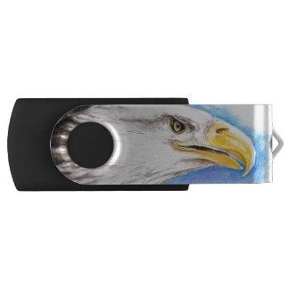 Weißkopfseeadler-Profil USB Stick