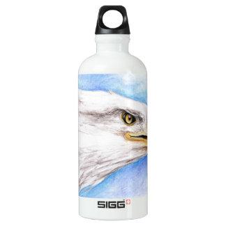 Weißkopfseeadler-Profil Wasserflasche
