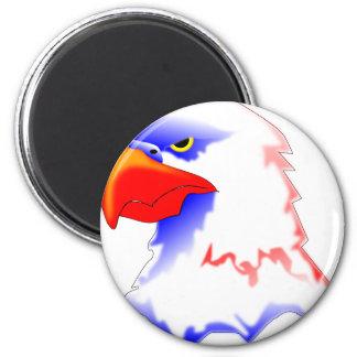 Weißkopfseeadler Runder Magnet 5,1 Cm