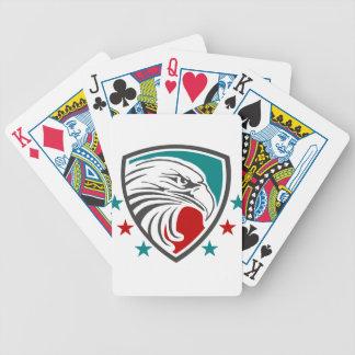 Weißkopfseeadler-Sicherheit und Schutz Bicycle Spielkarten