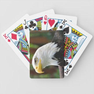 Weißkopfseeadler-Spielkarten Bicycle Spielkarten